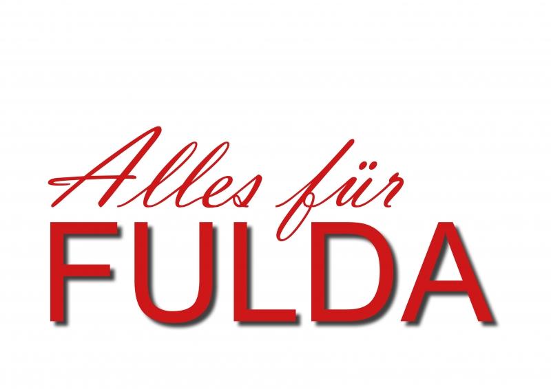 """Das Musical """"Alles für Fulda"""" mit neuem Logo."""