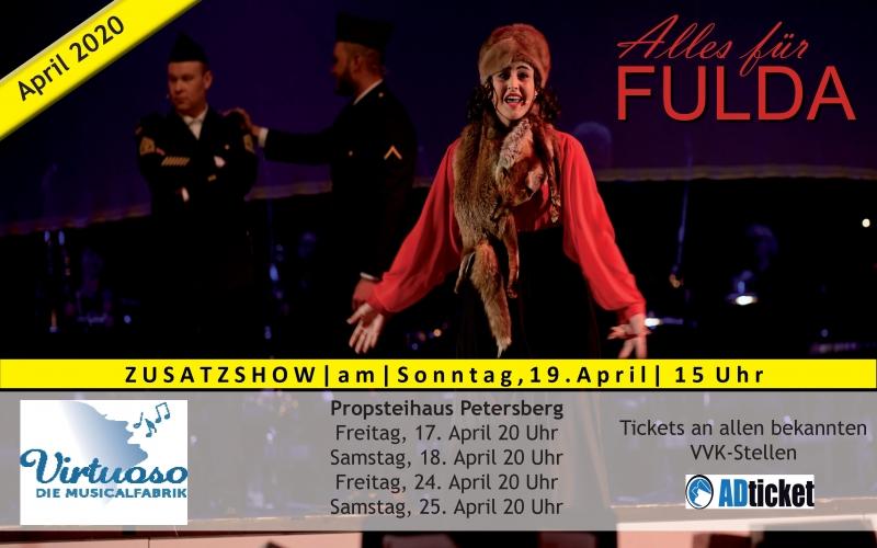 ALLES FÜR FULDA-Show am 19.04.2020