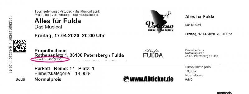AfF Bsp-Ticket